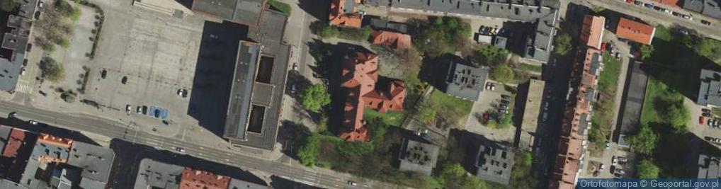 Zdjęcie satelitarne Korfantego Wojciecha ul.