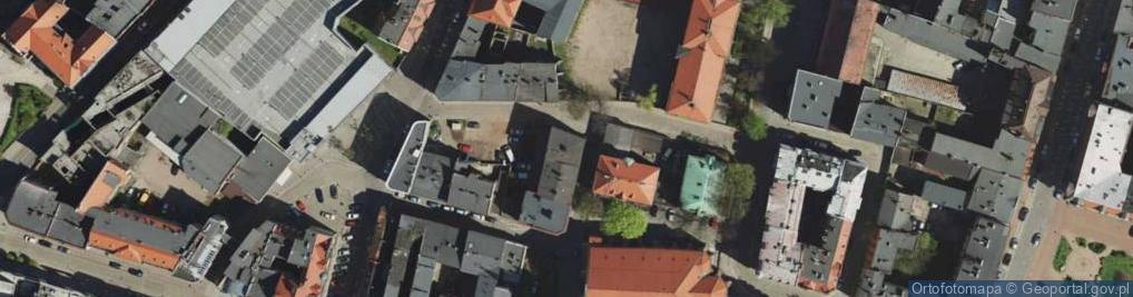 Zdjęcie satelitarne Koziołka Karola, ks. ul.