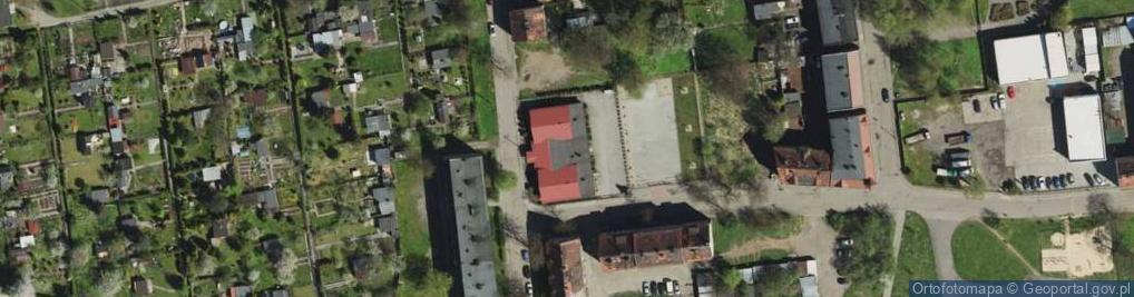 Zdjęcie satelitarne Kołłątaja Hugo ul.