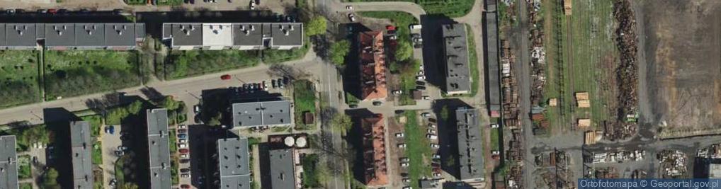 Zdjęcie satelitarne Konstytucji ul.