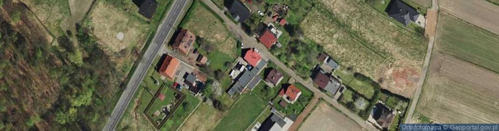 Zdjęcie satelitarne Koksowa ul.