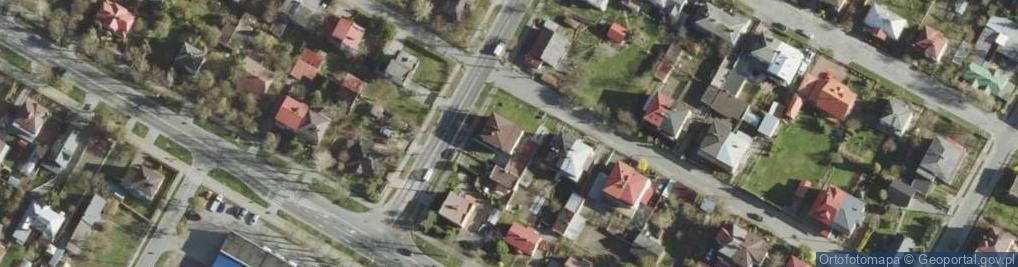 Zdjęcie satelitarne Kornasa Eugeniusza ul.