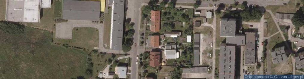Zdjęcie satelitarne Kolonialna ul.
