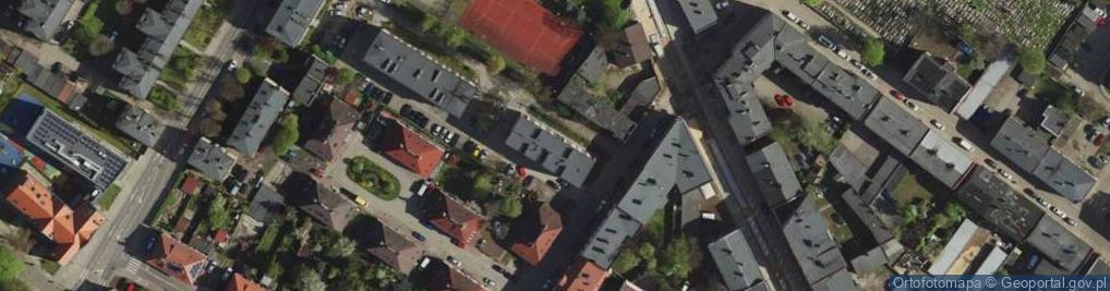 Zdjęcie satelitarne Kordeckiego Augustyna, ks. ul.