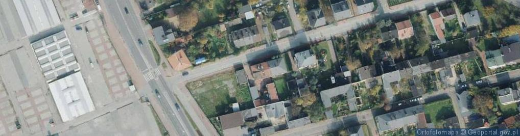 Zdjęcie satelitarne Kopcowa ul.