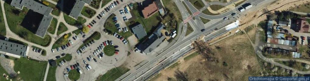 Zdjęcie satelitarne Konstytucji 3 Maja ul.