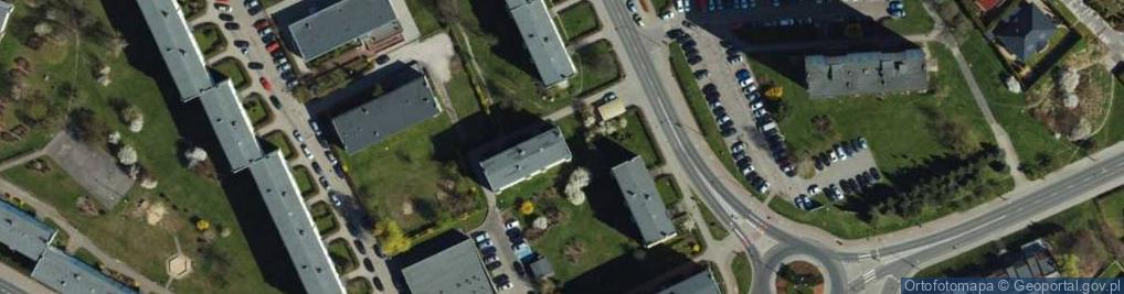Zdjęcie satelitarne Korczaka Janusza ul.