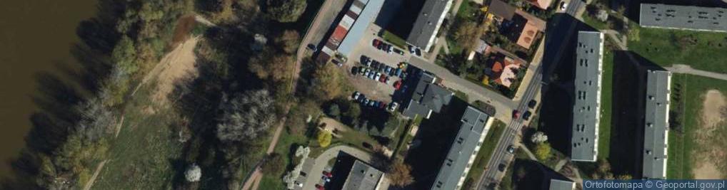 Zdjęcie satelitarne Kosmonautów ul.