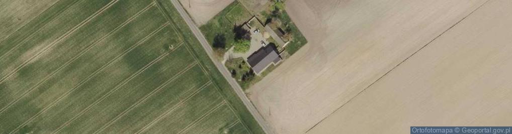 Zdjęcie satelitarne Kolonia Łowiczek ul.