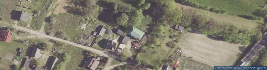 Zdjęcie satelitarne Kończyce-Kolonia ul.