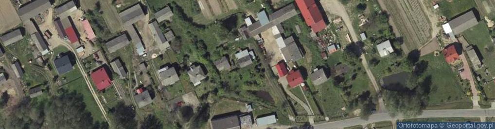 Zdjęcie satelitarne Kowala Druga ul.