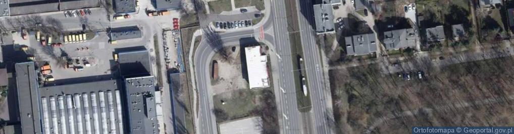 Zdjęcie satelitarne Kopcińskiego Stefana, dr. ul.