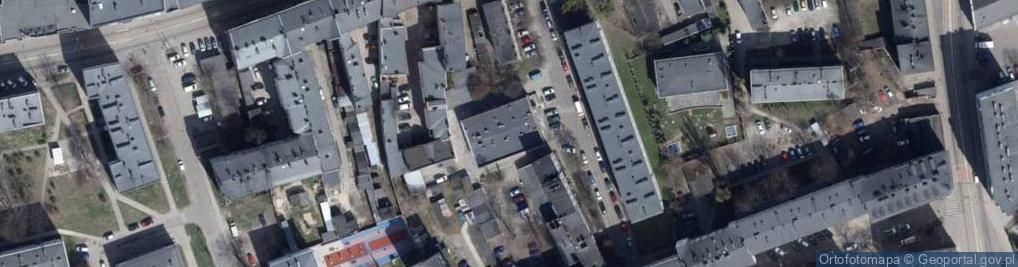 Zdjęcie satelitarne Konstadta Hermana ul.
