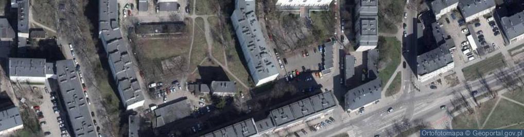 Zdjęcie satelitarne Kolektywna ul.