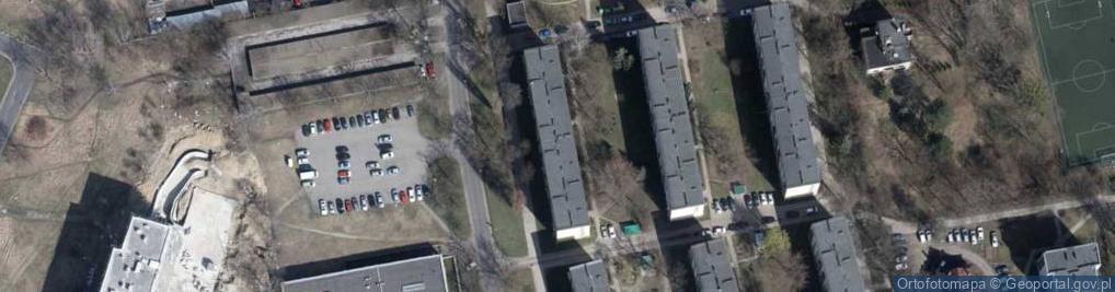 Zdjęcie satelitarne Konstytucyjna ul.