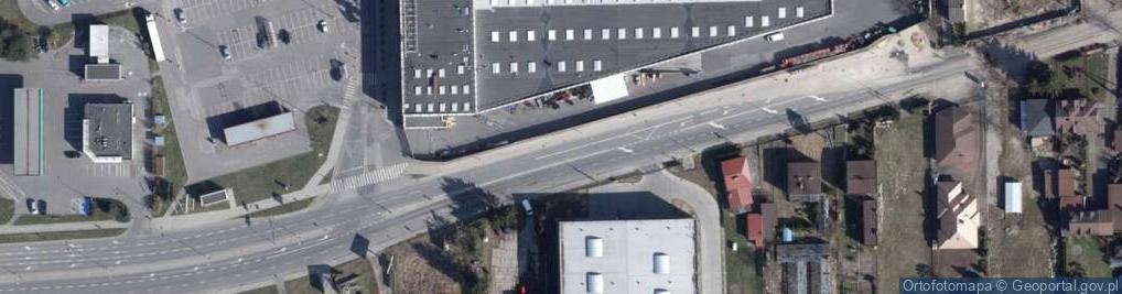 Zdjęcie satelitarne Kolumny ul.
