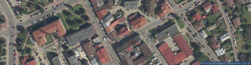 Zdjęcie satelitarne Konery Stanisława ul.