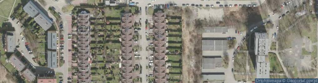Zdjęcie satelitarne Kormoranów ul.