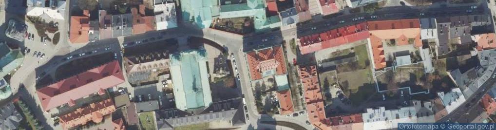 Zdjęcie satelitarne Kocyłowskiego Jozafata, bł. bp. ul.