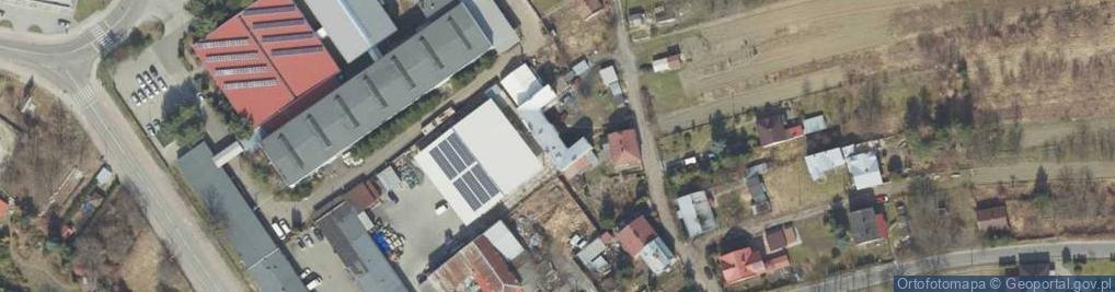 Zdjęcie satelitarne Kokosza ul.