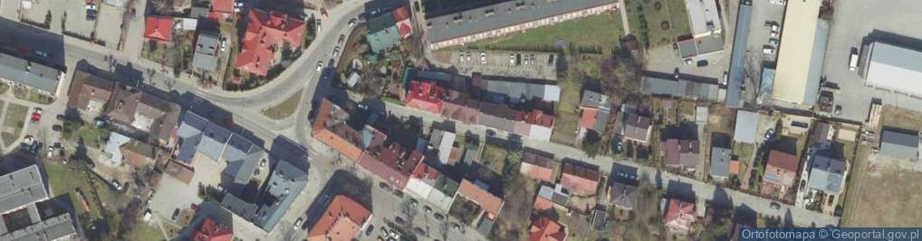 Zdjęcie satelitarne Korzeniowskiego Józefa ul.