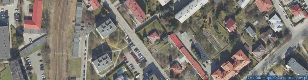 Zdjęcie satelitarne Kosynierów ul.