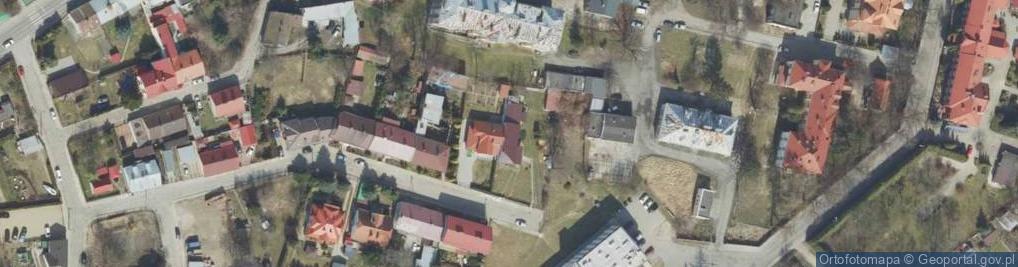 Zdjęcie satelitarne Koźmiana Kajetana ul.