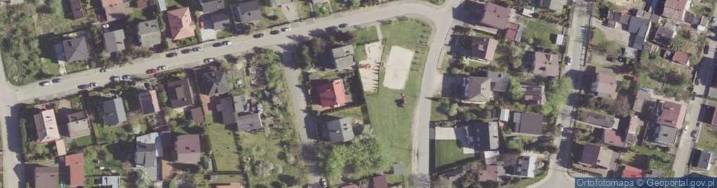 Zdjęcie satelitarne Kocka ul.
