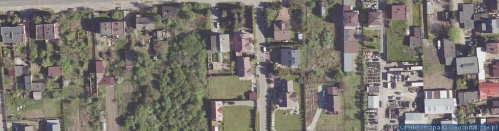 Zdjęcie satelitarne Korzeniowa ul.