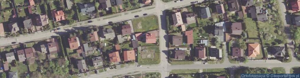 Zdjęcie satelitarne Koziegórska ul.