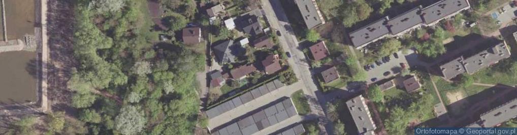 Zdjęcie satelitarne Kosowska ul.
