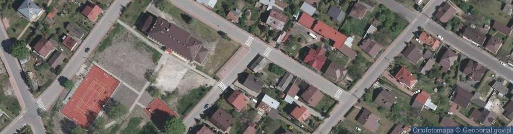Zdjęcie satelitarne Kończycka ul.