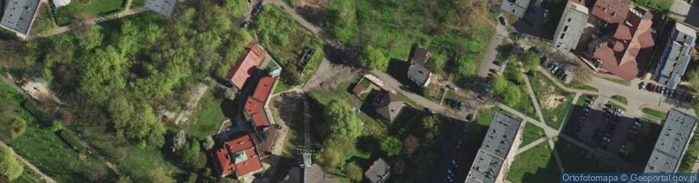 Zdjęcie satelitarne Kordonowa ul.