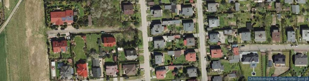 Zdjęcie satelitarne Kolejarzy ul.