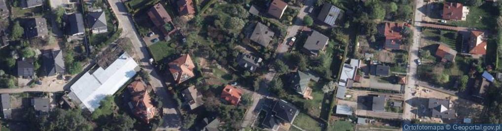 Zdjęcie satelitarne Kogucia ul.
