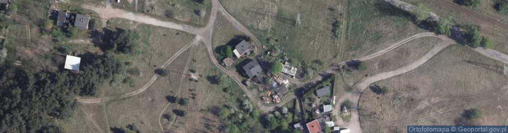 Zdjęcie satelitarne Kołowa ul.