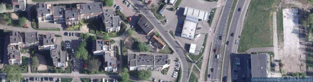 Zdjęcie satelitarne Koniuchy ul.