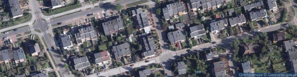 Zdjęcie satelitarne Konwaliowa ul.