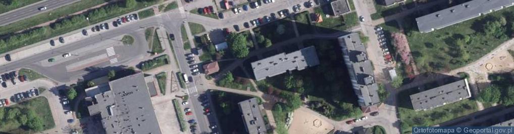Zdjęcie satelitarne Kosynierów Kościuszkowskich ul.