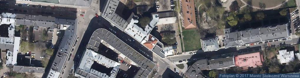Zdjęcie satelitarne Koszykowa ul.