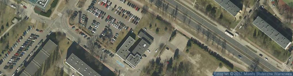 Zdjęcie satelitarne Komitetu Obrony Robotników ul.