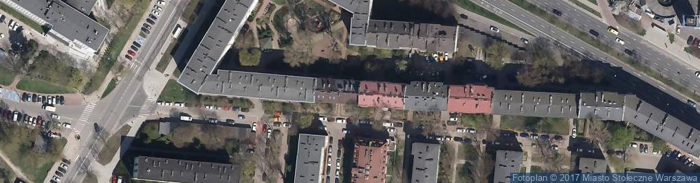 Zdjęcie satelitarne Kopińska ul.