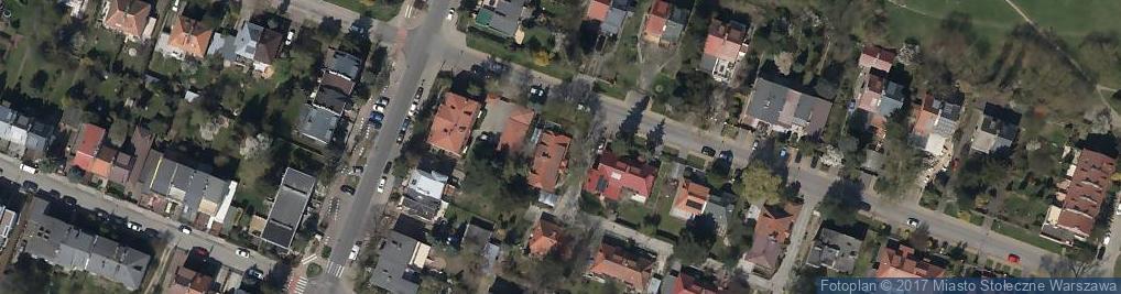Zdjęcie satelitarne Koronowska ul.