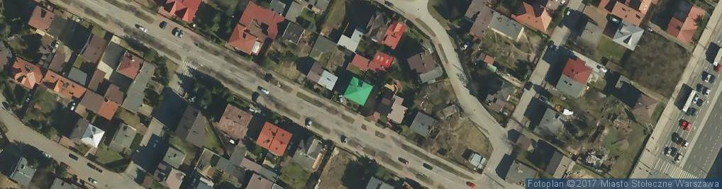 Zdjęcie satelitarne Kościeliska ul.