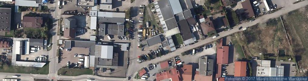 Zdjęcie satelitarne Konarowa ul.