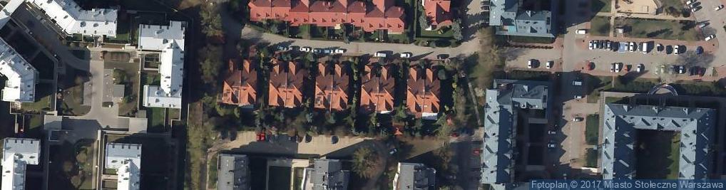 Zdjęcie satelitarne Korsarska ul.