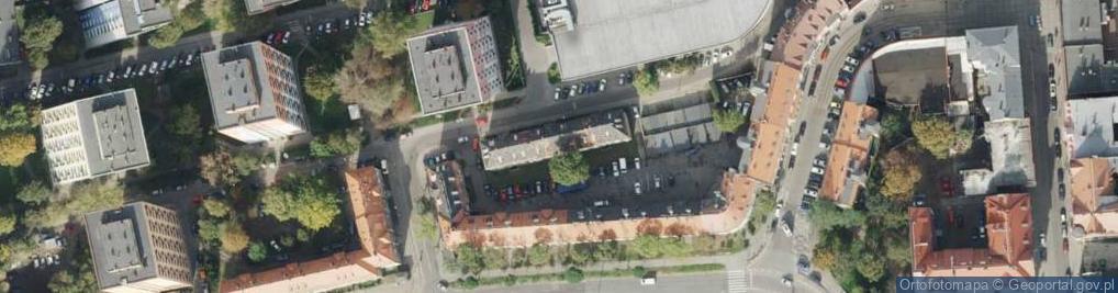 Zdjęcie satelitarne Kowalska ul.
