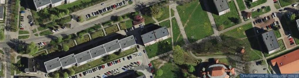Zdjęcie satelitarne Korczoka Antoniego, ks. dr. ul.