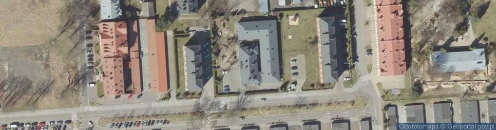 Zdjęcie satelitarne Koszary ul.