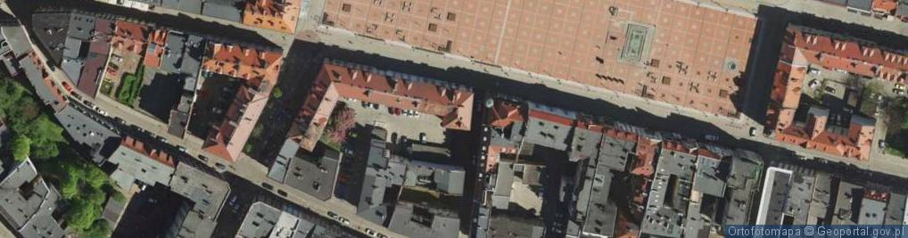 Zdjęcie satelitarne Krawiecka ul.